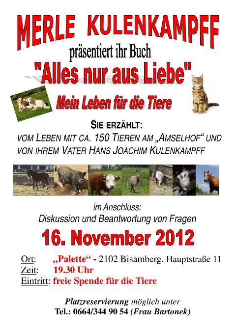 Lesung 16.Nov.2012 Bisamberg